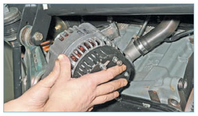 Ремонт генератора приора с кондиционером своими руками 82